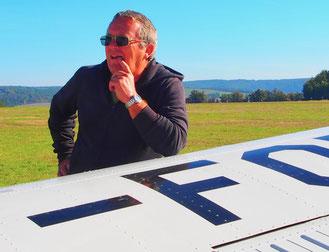 für Bob war fliegen eine Leidenschaft