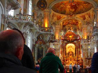 die Klosterkirche von Birnau ein bedeutendes Barock-Juwel