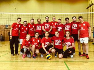 Volleyteams - GSBV Halle 1 und 2