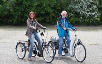 Dreiräder von Pfau-Tec