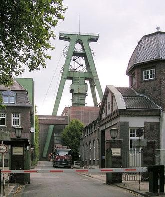Foto: Eingang Zeche Lohberg