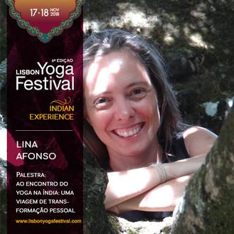 poster Lisbon Yoga Festival 6ª edição Lina Afonso