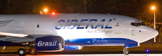 Boeing 737-300F of Brazilian carrier Sideral Air Cargo