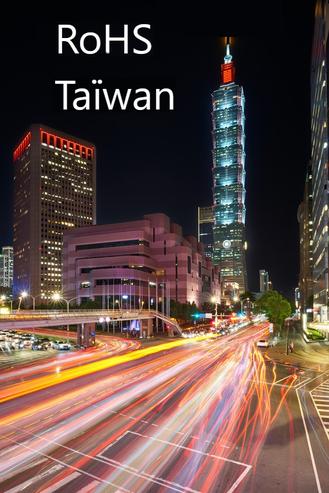 Conformité RoHS Taiwan