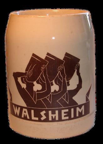 Bierkrug Walsheim V&B 1909