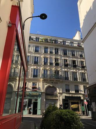 パリの一角