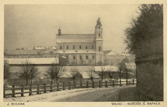 Vilnius. Šv. Rapolo bažnyčia. Nuotr Jano Bulhako. Serija VI. Nr.4 / St. Raphael's Church. Photo J. Bulhak