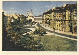 Vilnius. Muziejaus gatvė. Nuotr. Z. Kazėno. 1972m. / Muziejaus Street. 1972. Photo by Z. Kazėnas