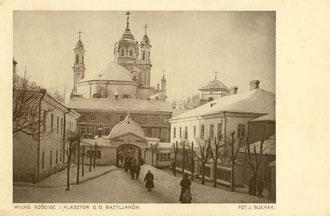Vilnius. O. Bazilijonų bažnyčia ir vienuolynas. Nuotr. J. Bulhako / The Basilian Church and Monastery. Photo J.Bulhak