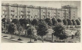 Vilnius. Gyvenamasis namas Stalino prospekte / Vilnius. Residential house at Stalin avenue