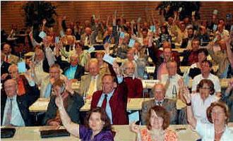 FSB-Delegierten-Versammlung Bad Windsheim 25.4.2010