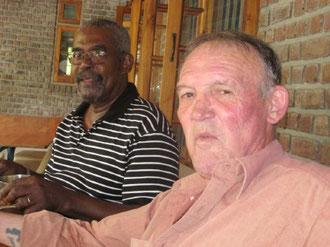 Karl & Colin from Guyana, Meherabad 2009