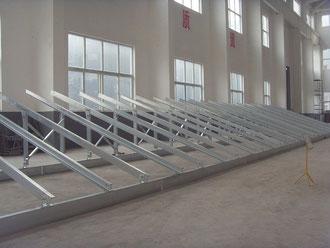 太陽電池架台(溶融亜鉛メッキ), 太陽光発電架台