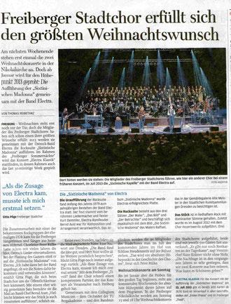 "01.12.2012, ""Freie Presse"""