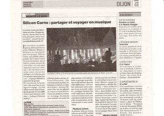 article du Bien public, publié le 16 mai 2013