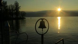 Zürichsee, Küsnacht, Sonnenuntergang