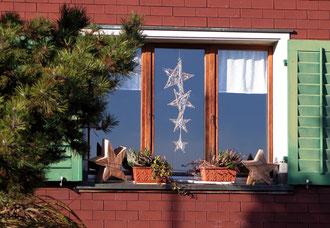 Weihnachtsschmuck, Fenster