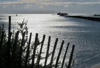 Meer, Hafen, Fort Brescou