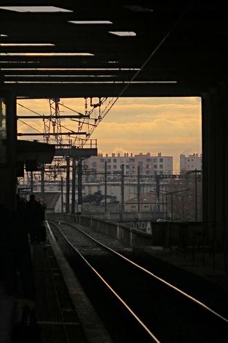 Bahnhof, Eisenbahn, Frankreich