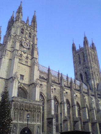 イギリスにあるカンタベリー大聖堂