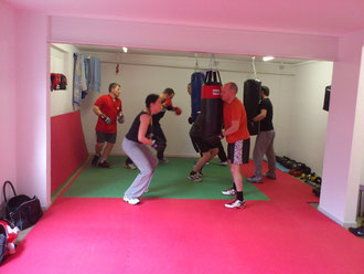 Fortgeschrittene Fitness-Boxen @ M's-Gym Bern März 2013, Ostermundigen