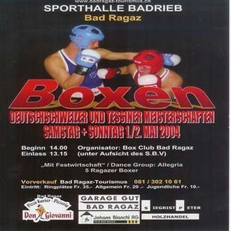letzter Elite-Kampf! Deutschschweizer und Tessiner Meisterschaften 2004