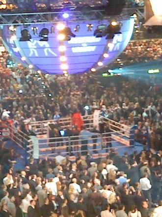 E. Holyfield vs. N. Valuev Schwergewichts-WM in Zürich 2008