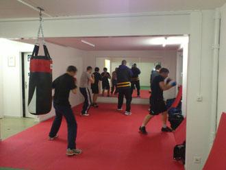 Technik-Training Boxen @ M's-Gym Bern Februar 2013, Ostermundigen