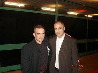 """Marco Spath - M's-Gym Bern und """"King"""" Arthur Abraham IBF-Mittelgewichtsweltmeister in Basel 2007"""