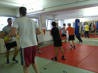 Koordinations-Übungen Boxen @ M's-Gym Bern Sept. 2012