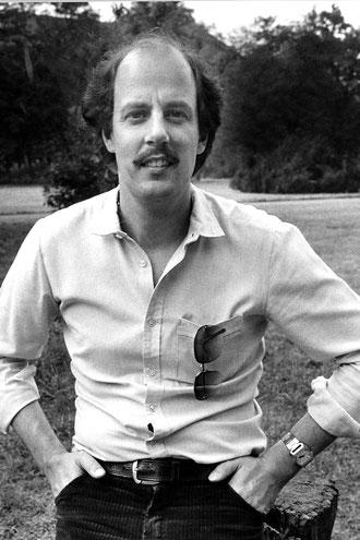 Sohn Hans Joachim Schilling 1980 im Schlosspark Merseburg