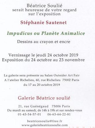 Galerie Béatrice Soulié - Stéphanie Sautenet - dessins