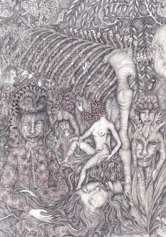 Impudicus ou Planète Animalice - galerie Béatrice Soulié - 24/10 au 23/11
