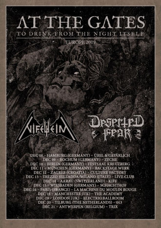 AT THE GATES North American tour with Amon Amarth and Arch Enemy starting tomorrow