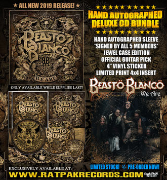 Beastö Blancö, New Album, We Are,  Rat Pack Records, Chuck Garric, Calico Cooper, Rockers And Other Animals, Rock News, Rock Magazine, Rock Webzine, rock news, sleaze rock, glam rock, hair meta
