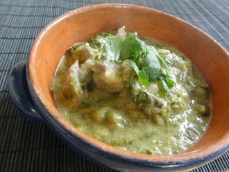 鮎河菜のフィリピン風