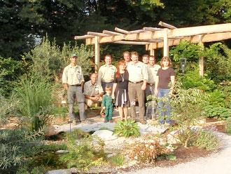 Das Team der Gartengestaltung Heidle