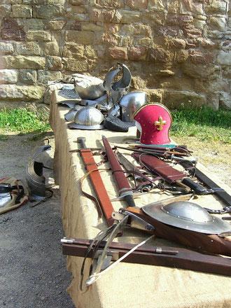 Ausrüstung Mittelalterturnier