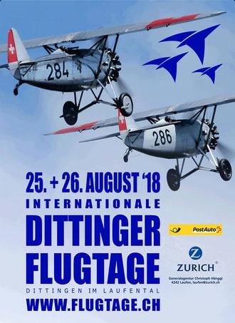 Dittinger Flugtage 2018 Flugtage.ch