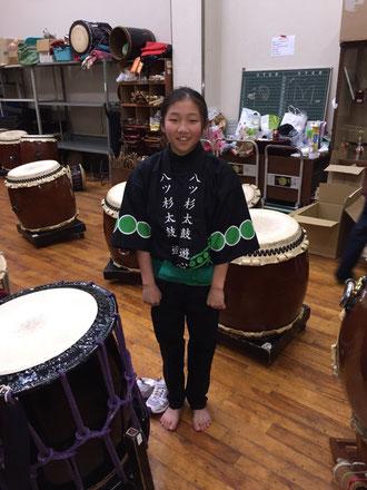 子供太鼓のハッピも新しくしました!!しかも、色違い♪