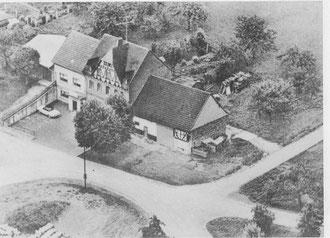 Luftaufnahme der Gaststätte