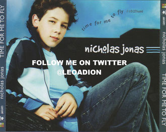 nicholas jonas time for me to fly single promo traycard back