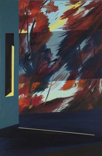 ( Oil on canvas, 120 x 80 cms.)