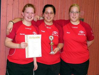 Wir sind Pokalsieger 2008 - TV Ochsenfurt Tischtennis-Damen