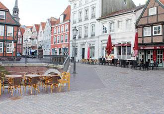 Stade Altstadt liegt fast vor der Haustür der Gästeunterkunft