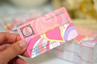 美容室メンバーズカード実例