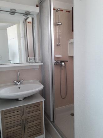 Appartement à Gruissan Les Ayguades - salle d'eau