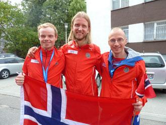 Bjørn Tore, Gjermund og Peter