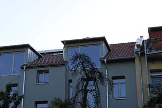 neuer Dachstuhl + Neueindeckung