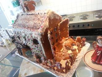 Unser Lebkuchenhaus